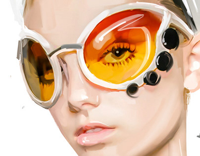 Prada dragonfly glasses'19