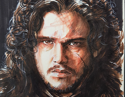 Jon Snow fanart