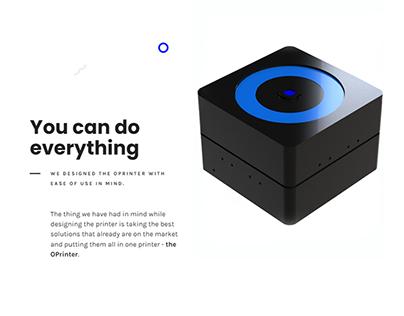 Website Design & Product Visualization (+designing)