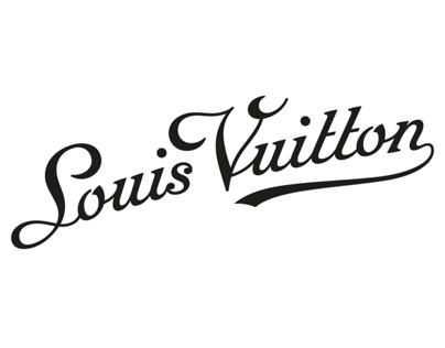 Louis Vuitton Script
