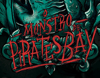 Ilustração: O Monstro de Pirates Bay