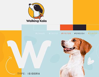 Walking Kala - Brand Logo