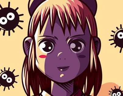 El Viaje de Chihiro / Fanart