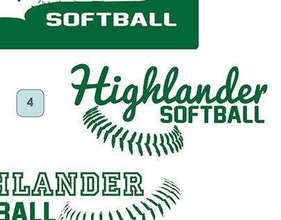 Glevar Highlander Logo Options