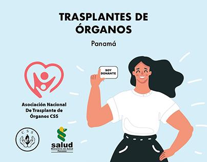 Campaña Donación de Órganos - Organ Donation Campaign