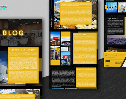 Blog Web Design