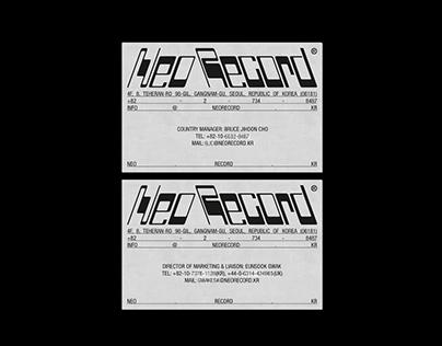 NEO RECORD