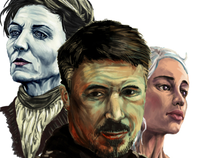 Speed Painting: Game of Thrones