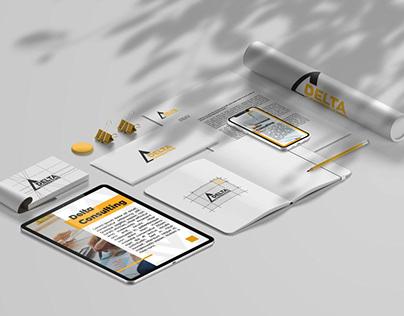 Brand book — Delta consulting