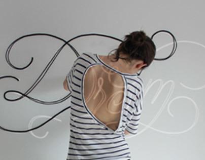 Rope typography