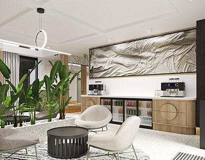 art&design _ small hotel lobby , Sopot , Poland