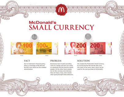 McDonald's Small Currency