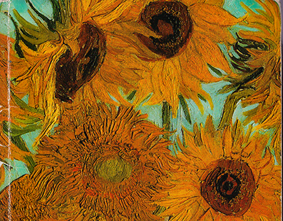 Van Gogh Sunflowers Sketchbook 2021