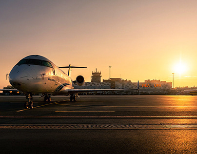 Ufa airport - corporate and aviation photography