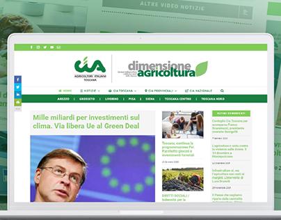 Cia Toscana e Dimensione Agricoltura. Sito internet