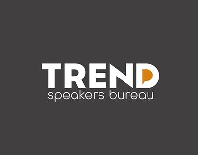 Identidade Visual | Trend Speakers Bureau