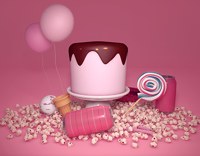 Candy / 3D Render