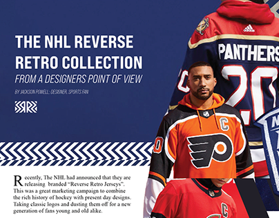 NHL Retro Reverse Jersey From A Designers Point of View