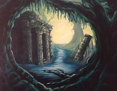 Swamp Acrylic