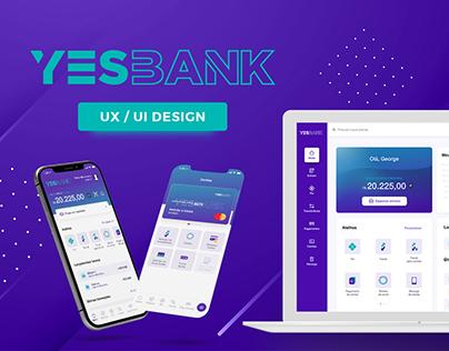 YesBank App & Internet Banking - UX/UI Design