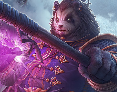 Iron Alliance Pandaren Detail