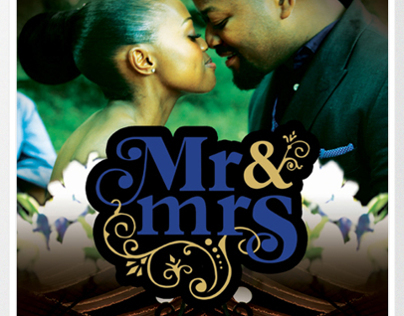 Mr & Mrs Molefe - Poster Design