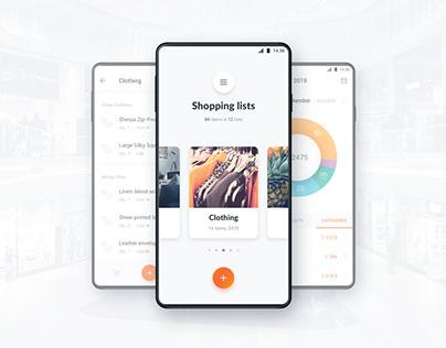 ShopeX app UI and logo