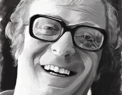 Michael Caine Painting