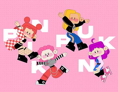 Pink Punk 2021 First Show, Character Design