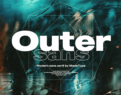 MADE Outer Sans | Font