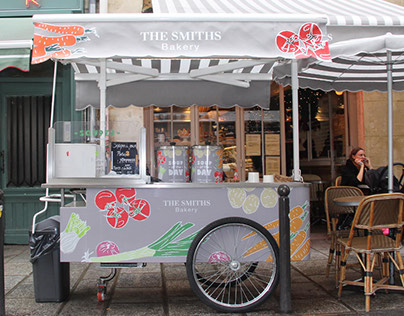 THE SMITHS BAKERY • Chariot de soupes