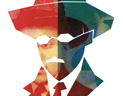 Illustration   Fernando Pessoa