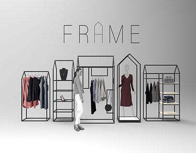 FRAME Clothing Rails