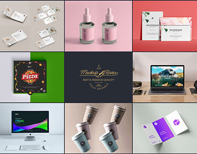 Latest Mockups of The Week 2020 Vol 1