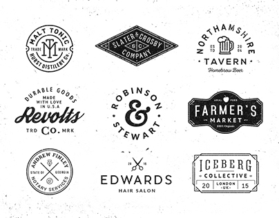 Logo/Badge Templates Vol.4