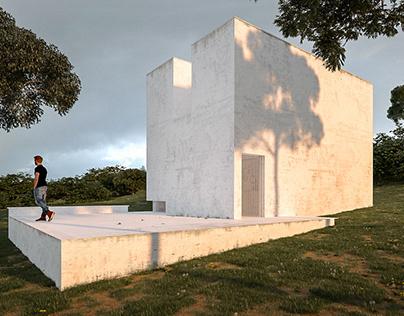 Re- construction Capela do Monte. Alvaro Siza