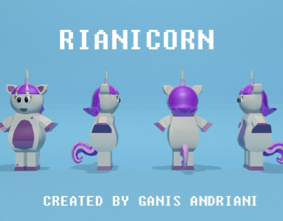 Character Rianicorn (3Ds Max)