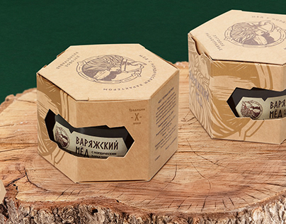 Варяжский мёд / Package design