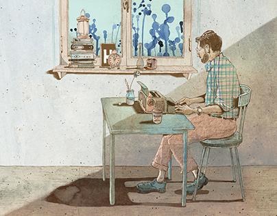 NAVER rest project illustration