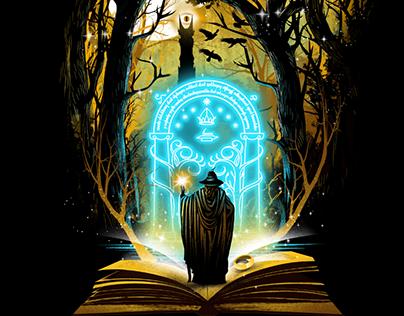 Book Series Illustration