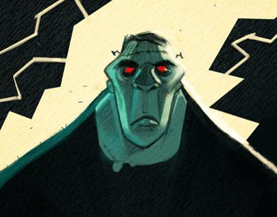 Frankenstein Illustrations ( La Spiga Edizioni)