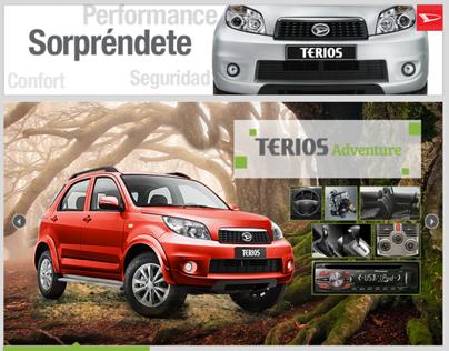 Daihatsu Perú - Facebook App - Terios