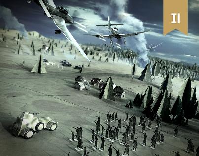 WWII - paper battlefield