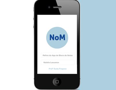 App Bloco de Notas