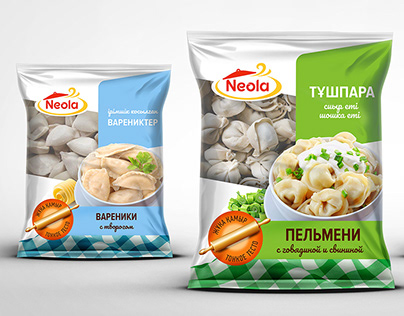 Neola. Packaging