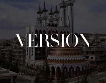 VERSION MAGAZINE   Content Curation & App Concept
