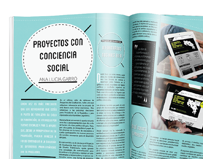 Articulo: Proyectos con Conciencia Social