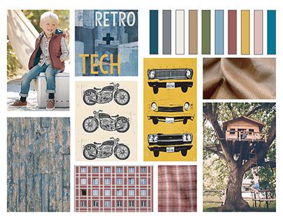 Retro+Tech: Boy's Fall/Winter Collection