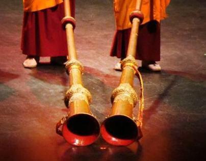 Photography - Tibetan Monks Visit