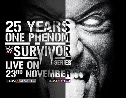 Survivor Series, WWE LiveIndia, RomanReigns, Undertaker